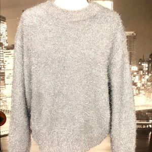 Silver sweater size M